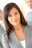 Portrait of beautiful businesswoman Stock Photography
