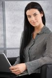Portrait of beautiful businesswoman smiling Stock Images