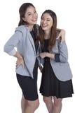 Portrait beautiful businesswomen smiling Royalty Free Stock Photos