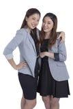 Portrait beautiful businesswomen smiling Royalty Free Stock Image