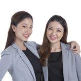 Portrait beautiful businesswomen smiling Royalty Free Stock Photo