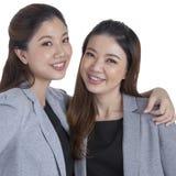 Portrait beautiful businesswomen smiling Stock Image