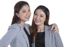 Portrait beautiful businesswomen smiling Stock Images