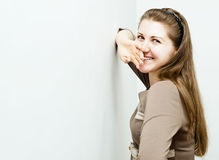 Portrait of beautiful charming girl Royalty Free Stock Photography