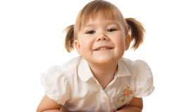 Portrait of a beautiful child Stock Image