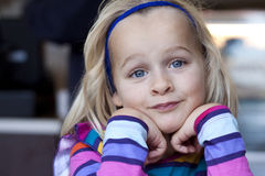 Portrait of beautiful child Royalty Free Stock Photography