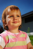 Portrait of a beautiful child Stock Photography