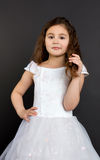 Portrait of a beautiful child girl Stock Images