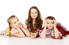 Portrait of beautiful children Stock Photo
