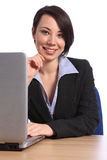 Portrait of beautiful confident business woman Royalty Free Stock Photos