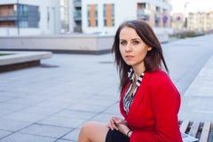 Portrait of a beautiful confident female executive. Stock Photo