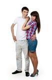 Portrait of a beautiful couple Stock Image