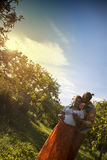 Portrait of a beautiful couple Royalty Free Stock Photo
