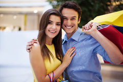 Portrait of beautiful couple royalty free stock images