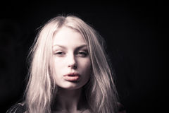 Beautiful delicate girl Royalty Free Stock Image