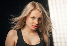 Beautiful delicate girl Stock Photography