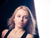 Beautiful delicate girl Royalty Free Stock Photos