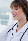 Portrait of a beautiful doctor Stock Photography