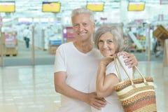 Portrait of beautiful elderly couple Stock Image