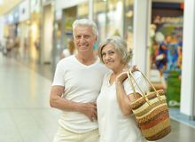 Portrait of beautiful elderly couple Royalty Free Stock Photography