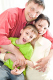 Portrait of a beautiful family Royalty Free Stock Photography