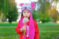 Portrait of a beautiful fashion little girl Stock Image