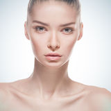 Portrait of beautiful fashionable woman Royalty Free Stock Images