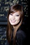 Portrait of beautiful female Stock Photography