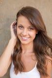 Portrait of beautiful female Stock Photos