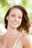 Portrait of beautiful female Stock Image