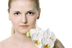 Portrait of beautiful female model Royalty Free Stock Photo