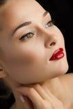 Portrait of a beautiful female model Stock Photo