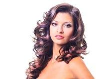 Portrait of beautiful female model Stock Image