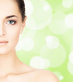 Portrait of beautiful, fresh, healthy and sensual girl Royalty Free Stock Image