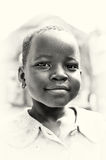 A portrait of a beautiful Ghanaian girl Royalty Free Stock Photography