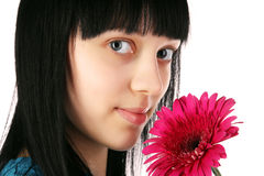 Portrait of a beautiful girl Stock Images