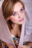 Portrait of a beautiful girl Royalty Free Stock Images