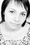 Portrait of a Beautiful Girl Stock Photo