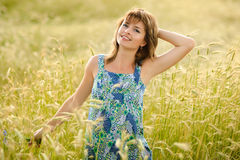 Portrait of a beautiful  girl Royalty Free Stock Photography