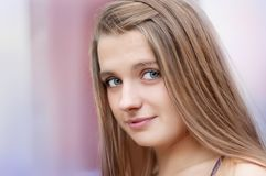 Portrait of beautiful girl Stock Photography