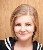 Portrait of beautiful girl. Portrait of beautiful caucasian girl stock photo