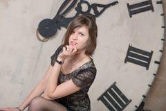 Portrait Beautiful girl Stock Images
