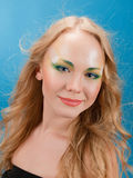 Portrait of beautiful girl  blonde Royalty Free Stock Image