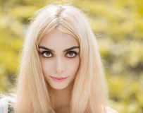 Portrait of a beautiful girl. Stock Photography