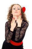 Portrait of a beautiful girl Carmen Royalty Free Stock Photo