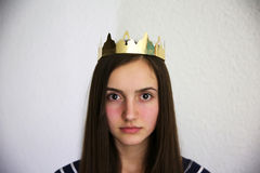 Portrait of beautiful girl Royalty Free Stock Images