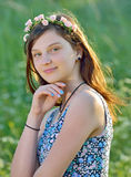 Portrait of beautiful girl Royalty Free Stock Photo