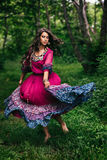Portrait of a beautiful girl gypsy Stock Image