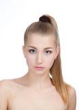 Portrait of beautiful girl Stock Photos