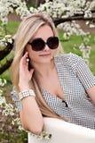 Portrait of beautiful girl outdoor Stock Photo